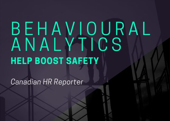Behavioural Analytics and Safety