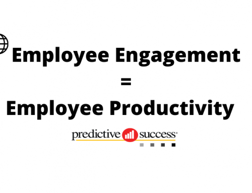Employee Engagement = Employee Productivity