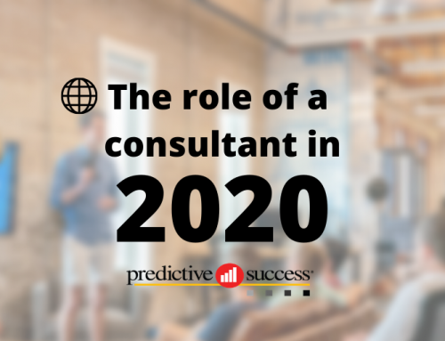 The Role of a Consultant in 2020